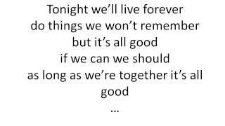 Union J Tonight (We live forever) - Lyrics