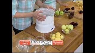 Авточистка для овощей и фруктов. Бытовая электрическая картофелечистка для дома. domatv.ru