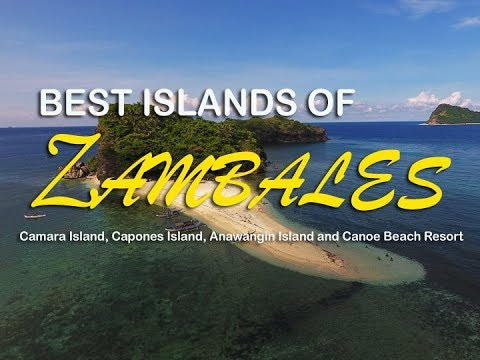 Best Islands of Zambales - Anawangin Cove, Capones Island, Camara Island and Canoe Beach Resort