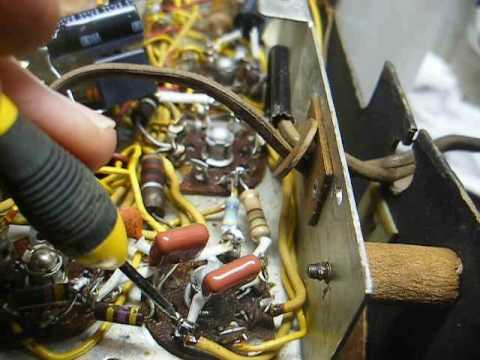 unboxing repair of a crosley tube radio unboxing repair of a 1948 crosley tube radio