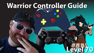 FFXIV Warrior Controller Layout & Macro Guide [Level 70]
