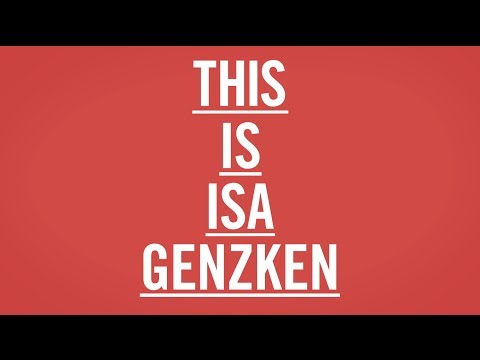 THIS IS ISA GENZKEN   MoMA