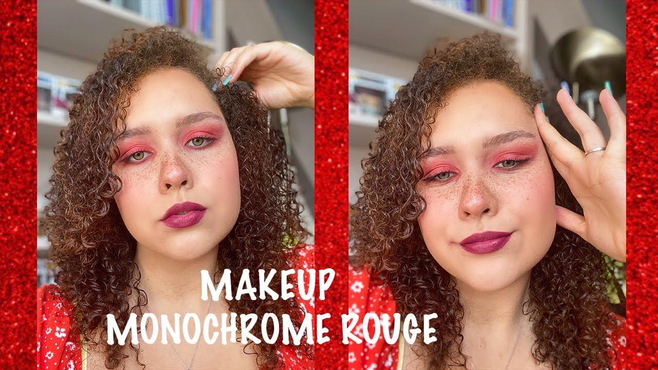 @Camille Ricordel: Tuto makeup monochrome Rouge ❤️
