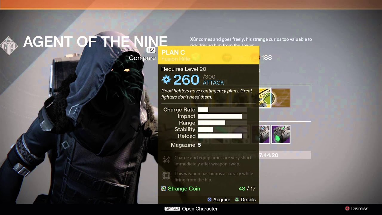 Destiny Xur Location and Items for 11/28/14