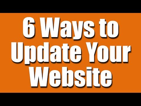 6 Ways to Update Your Website (for musicians, authors, artists)