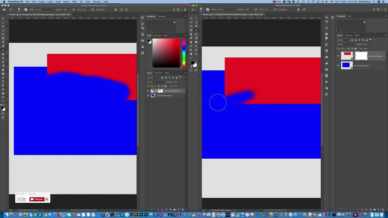 🤬 Brush Lag Error in Adobe Photoshop CC 2019
