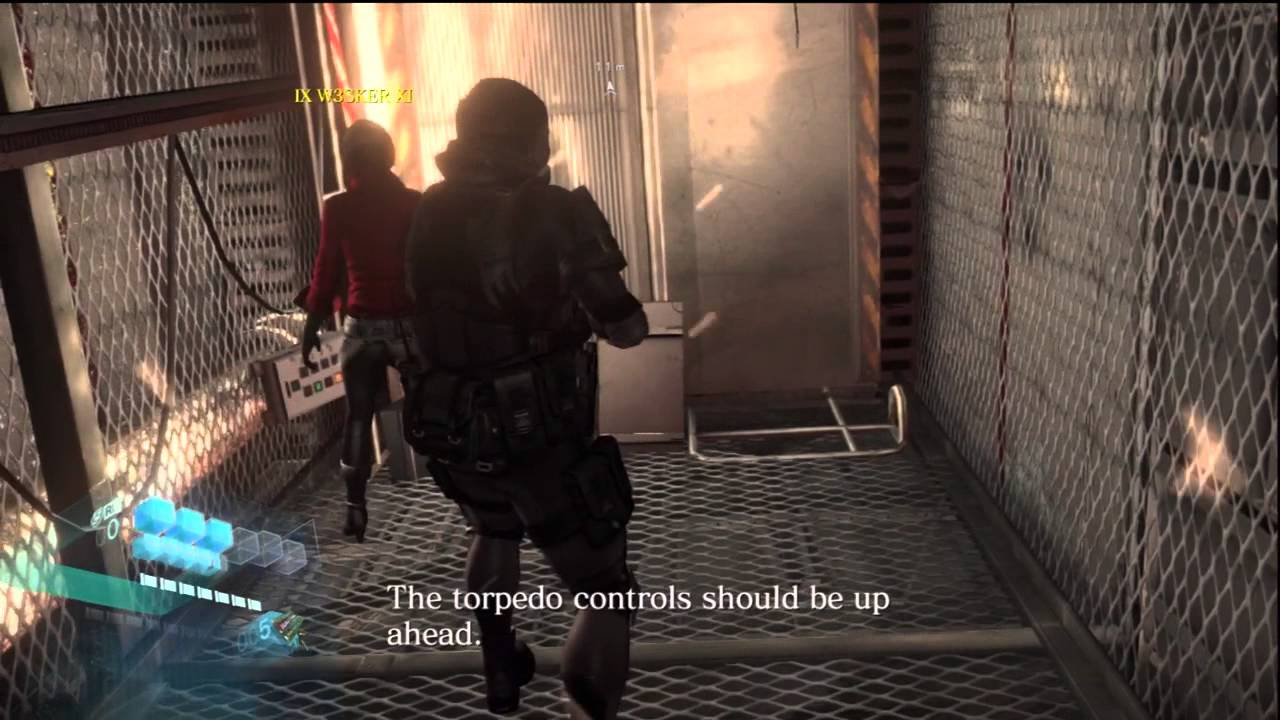Re6 Ada Co Op Gameplay Youtube