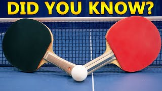 Things You Didn't Know About Table Tennis