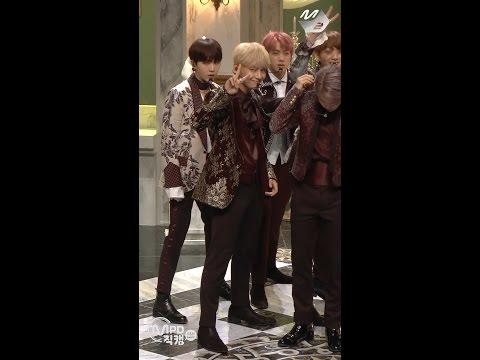[MPD직캠] 방탄소년단 뷔 직캠 피 땀 눈물 BTS V Blood Sweat & Tears Fancam @엠카운트다운 161013