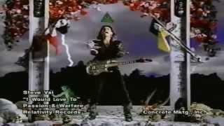 Steve Vai - I Would Love To (1990) (Enhanced)