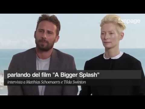 Tilda Swinton and Matthias Schoenaerts talk about 'A Bigger Splash'