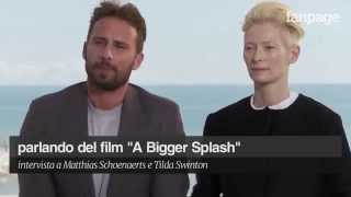 Tilda Swinton and Matthias Schoenaerts talk about
