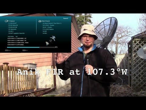 Canadian TV -  Anik F1R At 107.3°W - CTV Ottawa, Calgary, Montreal, Vancouver & The Weather Network