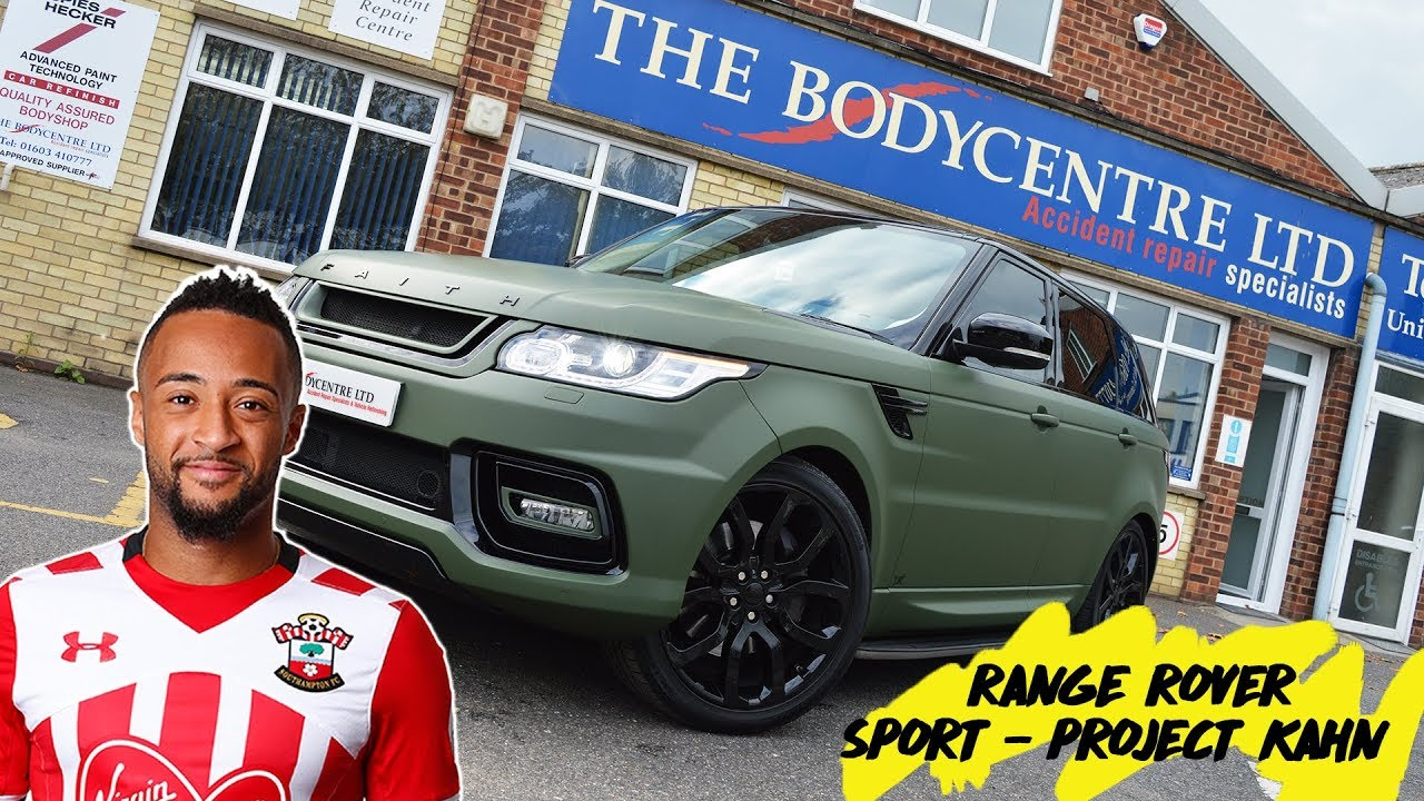 Nathan Redmond S Range Rover Sport Project Kahn Kit And