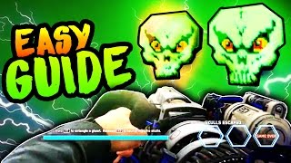 PERMA PERKAHOLIC ZOMBIES IN SPACELAND EASTER EGG GUIDE! ZOMBIES GHOSTS N SKULLS EASTEREGG TUTORIAL