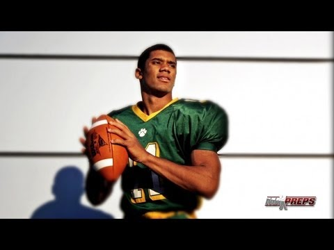 Russell Wilson highlights in high school