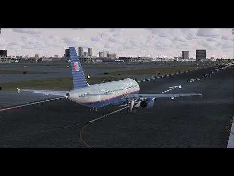 Live: (FSX) UA1582 - Newark to Tampa