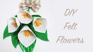 Felt Flowers w/ Easyweed® Electric HTV