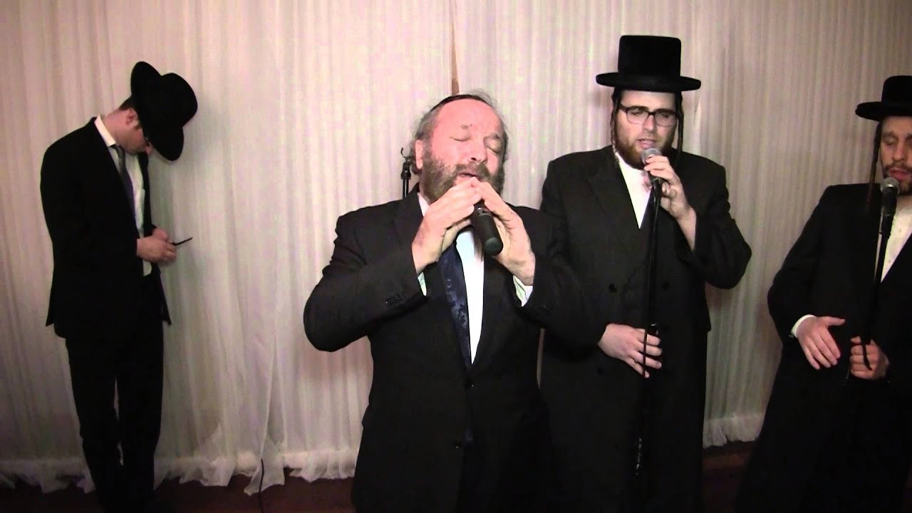 Yehuda Green Singing Im Eshkocheich with Shira Choir at the Zutler/Balsam Wedding