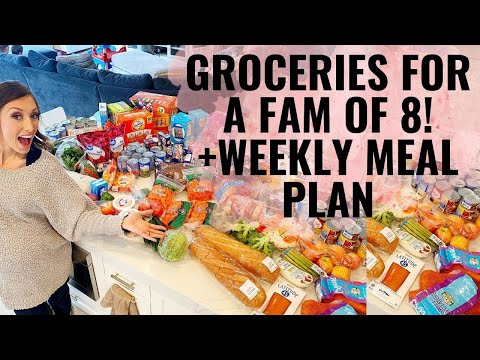 groceries-+-meal-plan-for-family-of-8!-+tons-of-affordable-grocery-tips!