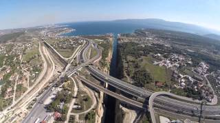 Korinthos - Loutraki - Isthmos Aerial footage I Athens Avenue Photography(www.giannistzitzas.com Specializing hotel video & photography services. I do not own the audio or lyrics in this video! No copyright infringement intended, ..., 2015-02-24T13:54:15.000Z)