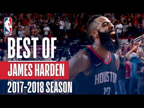 James Harden's Best Plays of the 2017-2018 NBA Regular Season