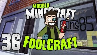 Minecraft: FOOLCRAFT | The GUNSMITH of MAYBE! | #36 | Modded Minecraft