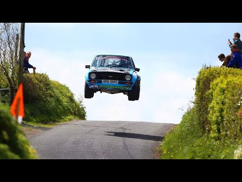 Frank Kelly HUGE JUMP Sperrins Rally 2015
