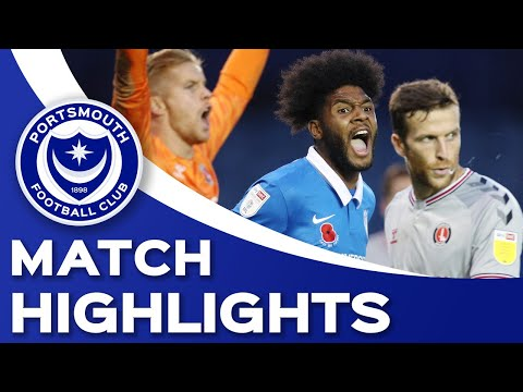 Portsmouth Charlton Goals And Highlights