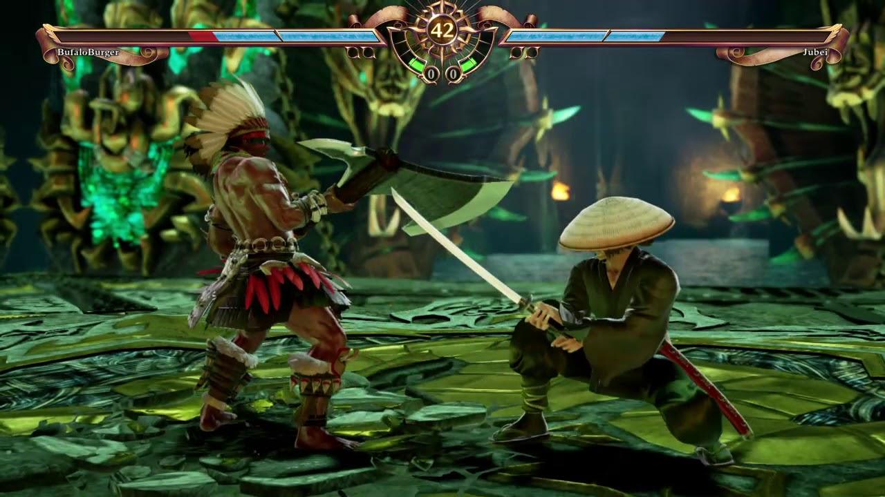 Buffalo Burguer Vs Jubei Kibagami Ninja Scroll 1ª Eliminatoria Sword Of Truth 2018 Youtube