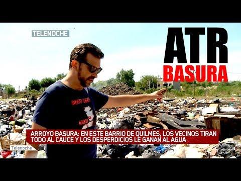 ATR BASURA: ¡Los vecinos tiran todo al arroyo!