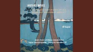 Violin Sonata No. 1 in D Minor: I. Lento - Allegro moderato