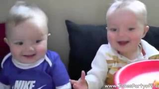 Twin Baby Laugh