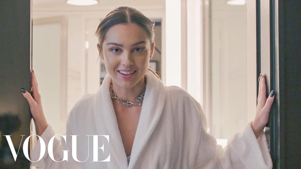 Olivia Rodrigo Gets Ready for the Met Gala | Vogue