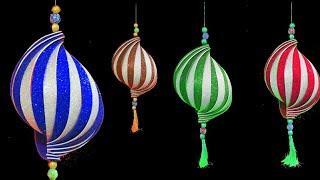 Easy Diwali Decoration Ideas | Diwali Hanging Decoration | Diwali Home Decoration | Diwali Craft