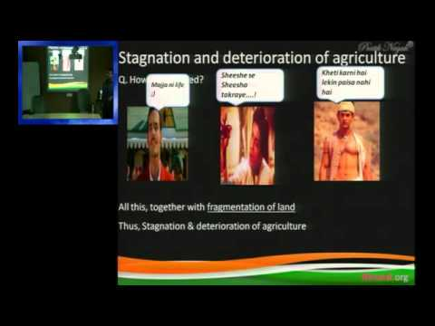 Lecture on Famines, Poverty & Impoverishment of peasantry in British India