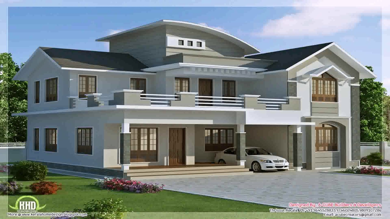 New model house design philippines 2014 youtube for Latest model home design