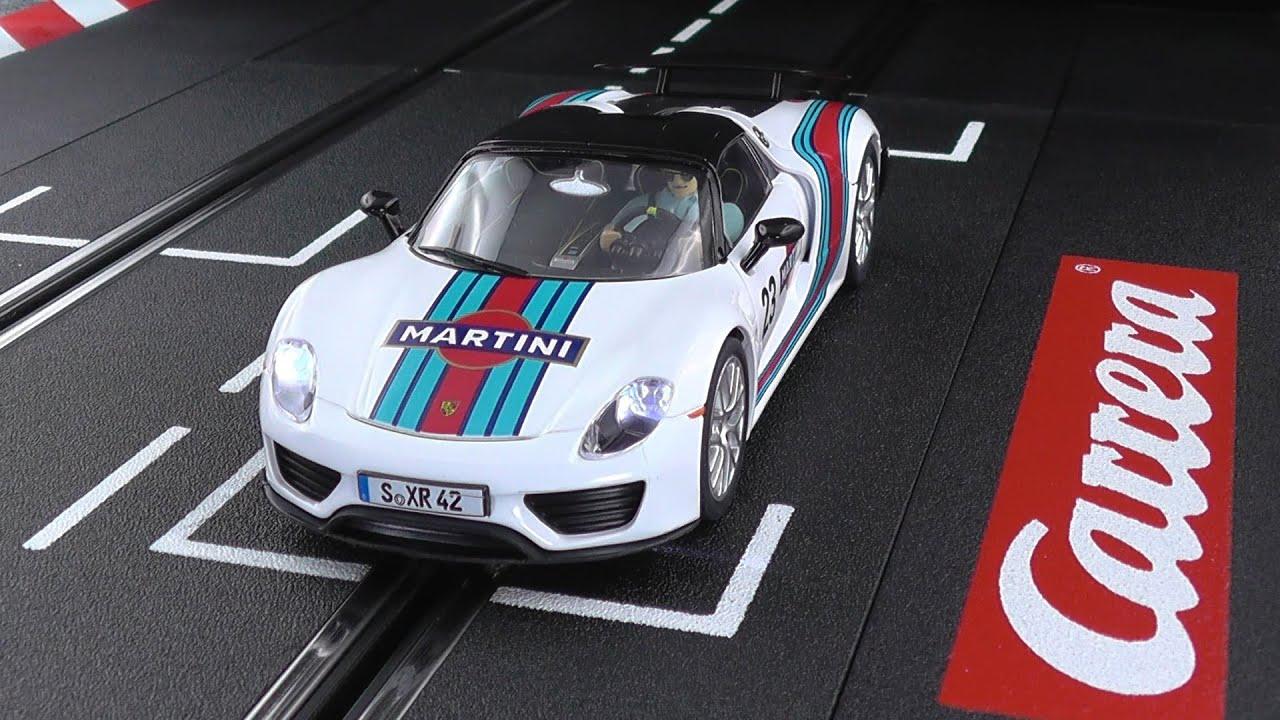 test drive carrera 30698 porsche 918 spyder martini racing. Black Bedroom Furniture Sets. Home Design Ideas