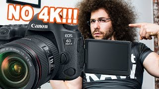 Canon EOS 6D Mark II Preview: It's MISSING 4K!