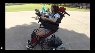 Electric Power Standing Reclining Disabled Disability Wheelchair Thumbnail