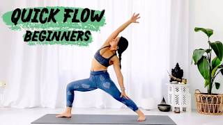 Quick Yoga Flow - Beginner sequence