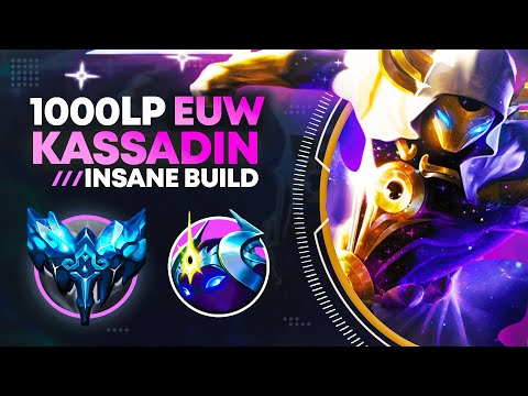 The #1 KASSADIN Reached 1000LP EUW Abusing This New Build... (PERMABAN)