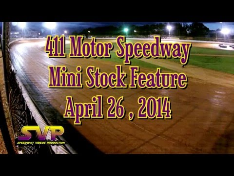 Mini Stocks trackside 4-26-14