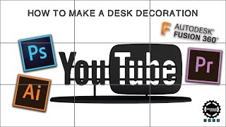 Watch Me Make a YouTube Desk Decoration!!! (Speedy How-To Included)