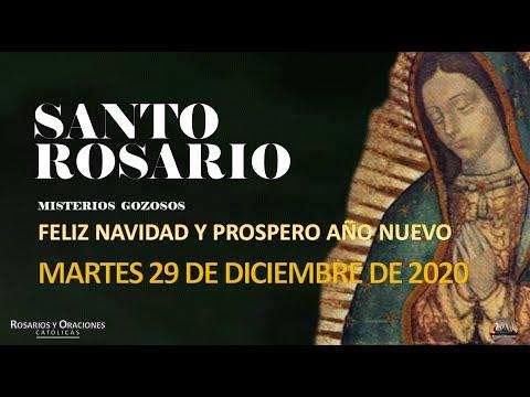 SANTO ROSARIO DE HOY MARTES 29 DE DICIEMBRE DE 2020//MISTERIOS DOLOROSOS//ROSARIO DE HOY// REZAR