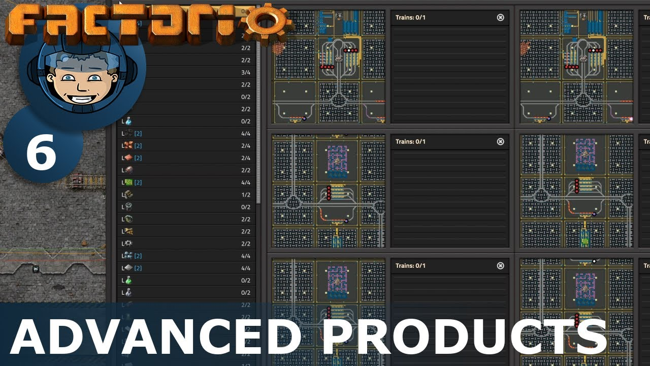 Download FROM ZERO TO MEGABASE - Factorio: Part 6 - ADVANCED PRODUCTS