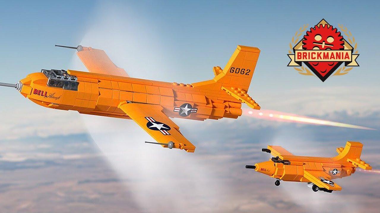 LEGO Bell X-1 Mach Buster Rocket Plane by Brickmania