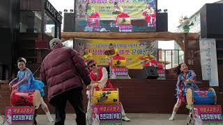 아랑고고장구 인천지회 양평 용문 천년시장
