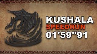 "MHW: Kushala Daora   Speedrun: 01'59""91"
