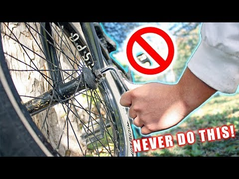 Top 5 Things to NEVER do to your PRO BMX!